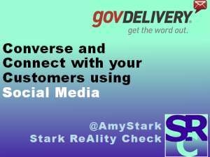 Converse and Connect with your Customers using Social Media